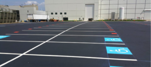 parking lot pavement marking - line painting - York PA
