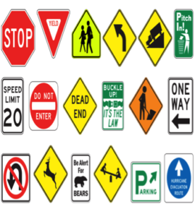 signage options - professional parking lot sign installation